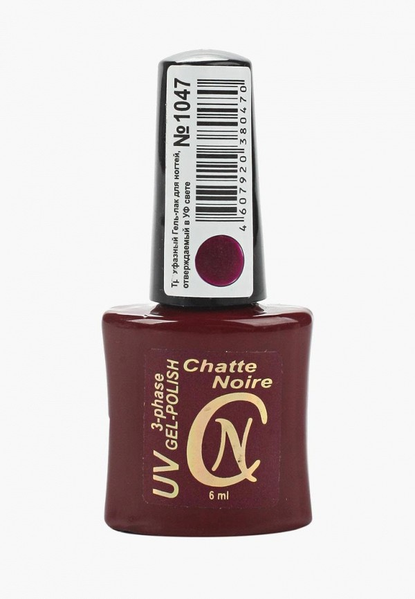 женский лак для ногтей chatte noire, фиолетовый