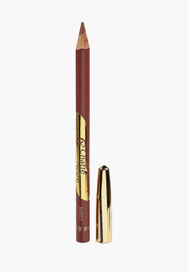 Купить Карандаш для губ Chatte Noire, №853 бежево-розово-сиреневый 1, 75 г, CH059LWAYNT0, розовый, Осень-зима 2018/2019