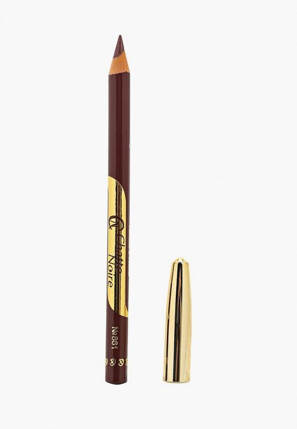 карандаш для губ chatte noire, коричневый