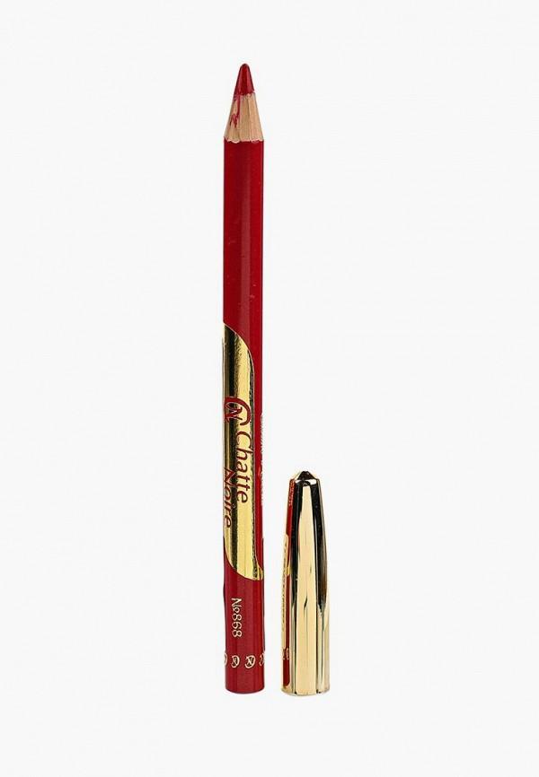 карандаш для губ chatte noire, красный