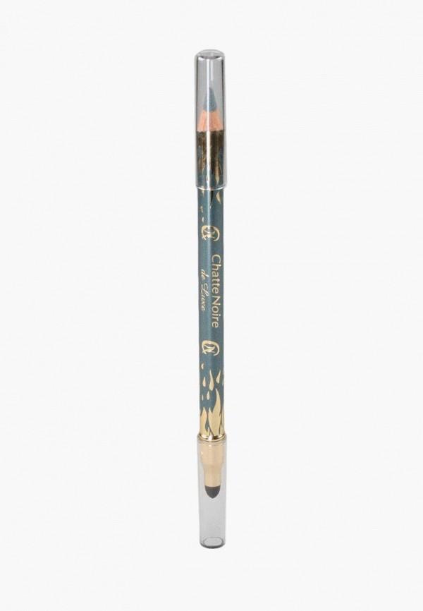 женский карандаш для глаз chatte noire, голубой