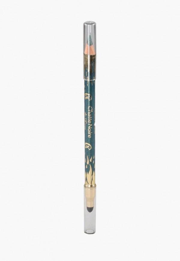 карандаш для глаз chatte noire, зеленый