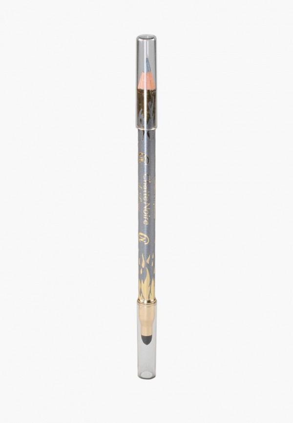 карандаш для глаз chatte noire, серый