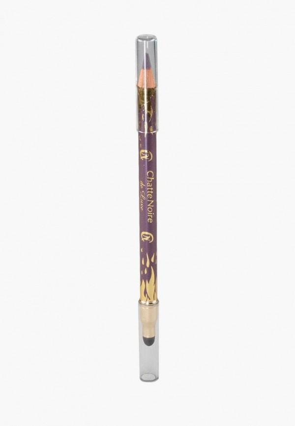 карандаш для глаз chatte noire, фиолетовый