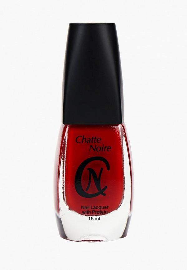 лак для ногтей chatte noire, красный