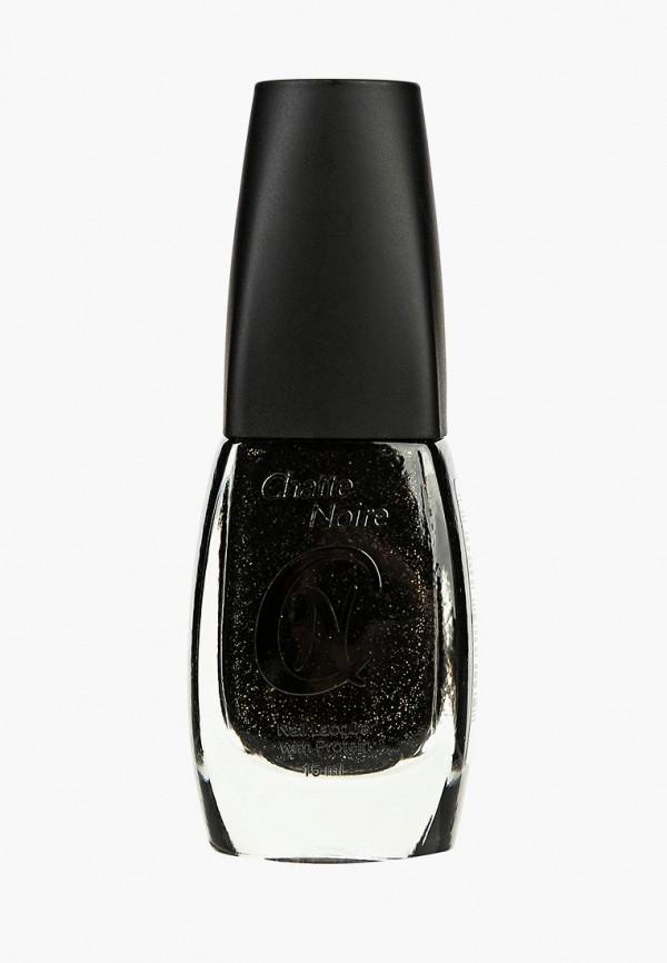 лак для ногтей chatte noire, черный
