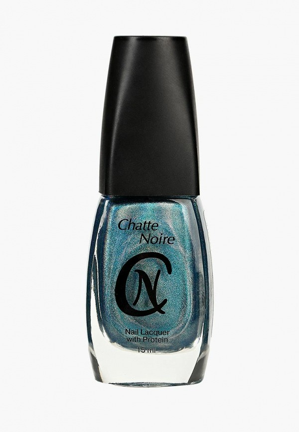 лак для ногтей chatte noire, синий