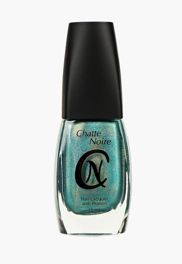 лак для ногтей chatte noire, зеленый