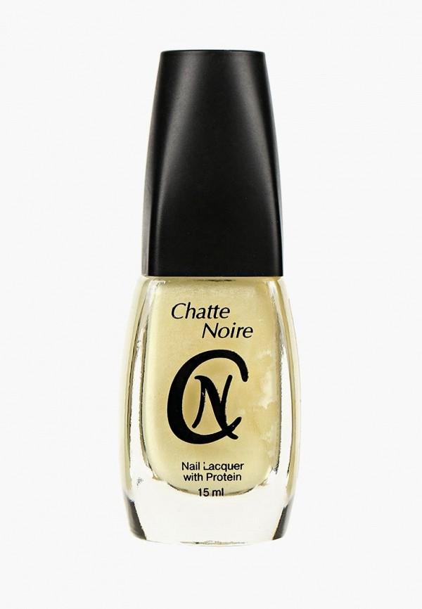 женский лак для ногтей chatte noire, желтый