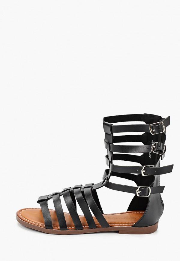 женские сандалии chiara foscari, черные