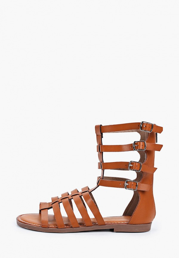 женские сандалии chiara foscari, коричневые