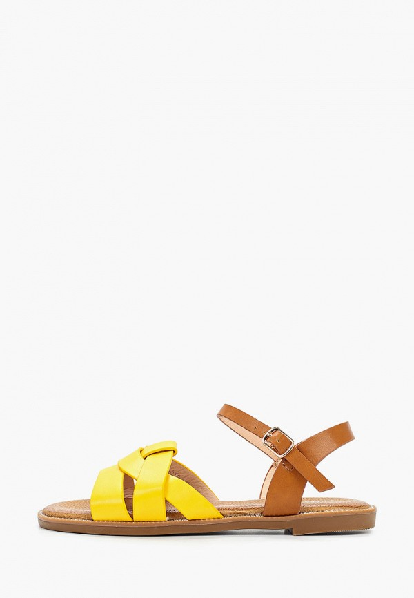 женские сандалии chiara foscari, желтые