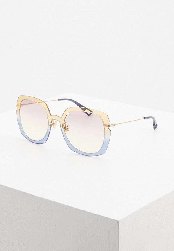 женские солнцезащитные очки christian dior, разноцветные