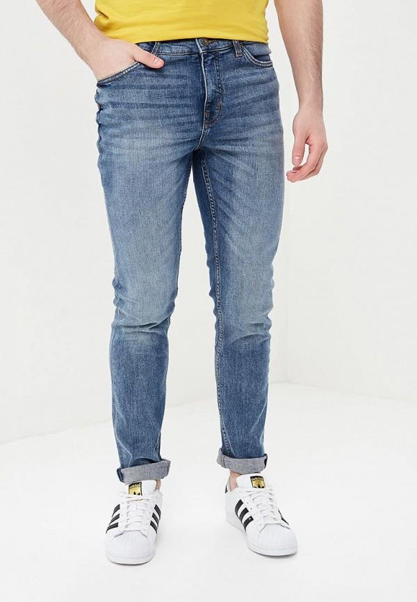 мужские зауженные джинсы cheap monday, голубые