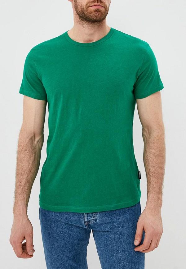 мужская футболка с коротким рукавом cheap monday, зеленая