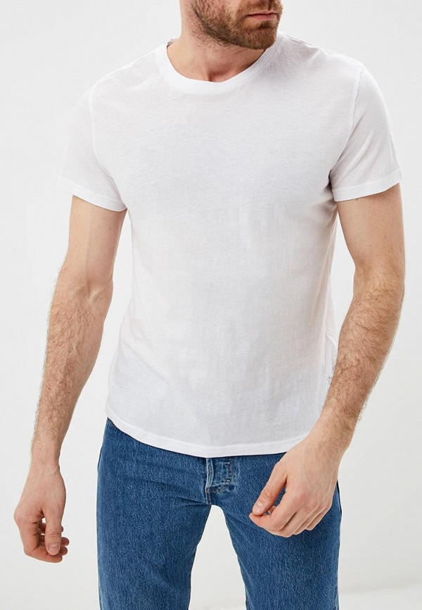 мужская футболка с коротким рукавом cheap monday, белая