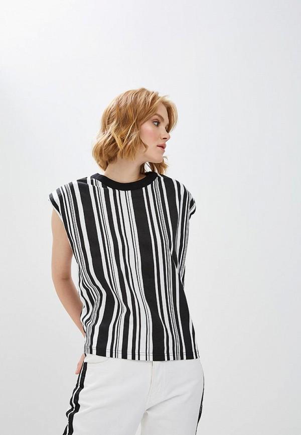 женская блузка cheap monday, черная