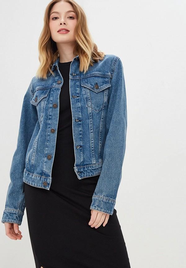 женская джинсовые куртка cheap monday, голубая