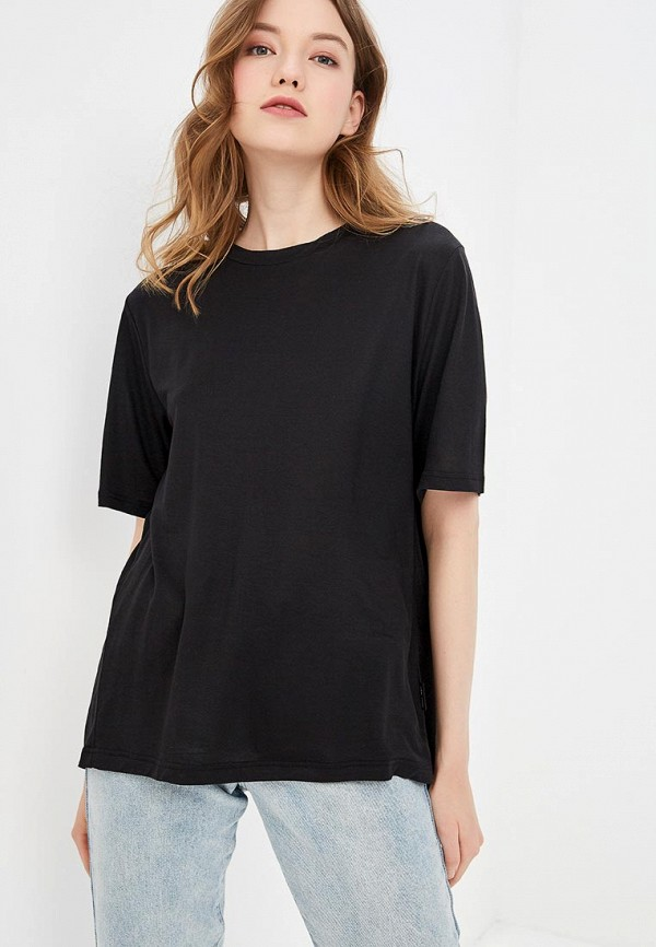 женская футболка cheap monday, черная