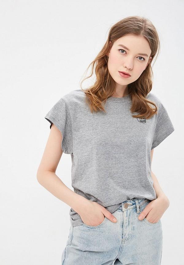 женская футболка cheap monday, серая