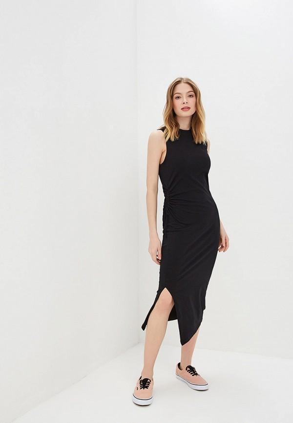женское повседневные платье cheap monday, черное