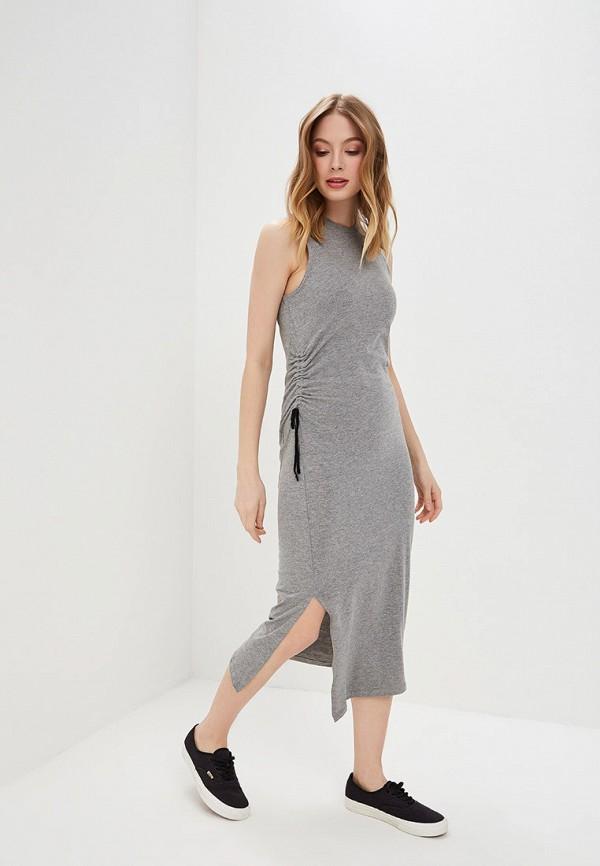 женское повседневные платье cheap monday, серое