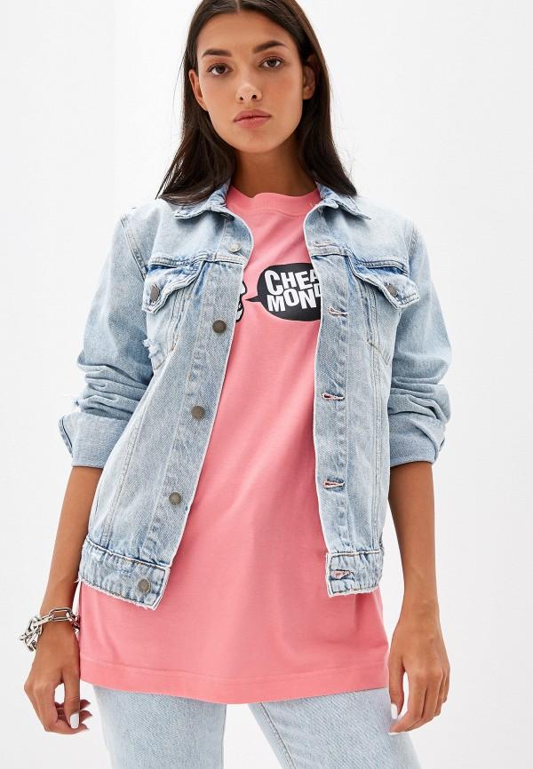 Куртка джинсовая Cheap Monday Cheap Monday CH839EWGMDE3 cheap monday куртка