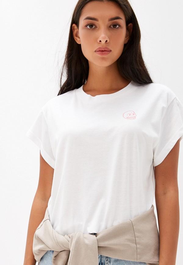женская футболка cheap monday, белая