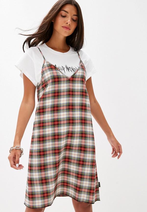 женское платье cheap monday, красное