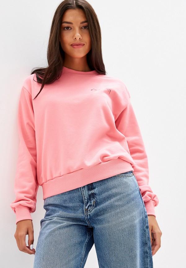женский свитшот cheap monday, розовый