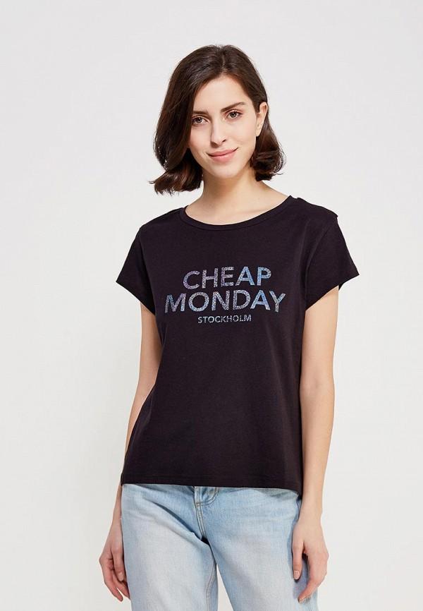 Футболка Cheap Monday Cheap Monday CH839EWZZW47 cheap monday перчатки