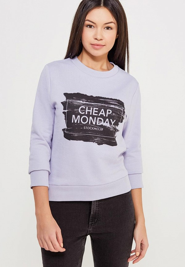 Свитшот Cheap Monday Cheap Monday CH839EWZZW55 свитшот cheap monday 556772 grey melange