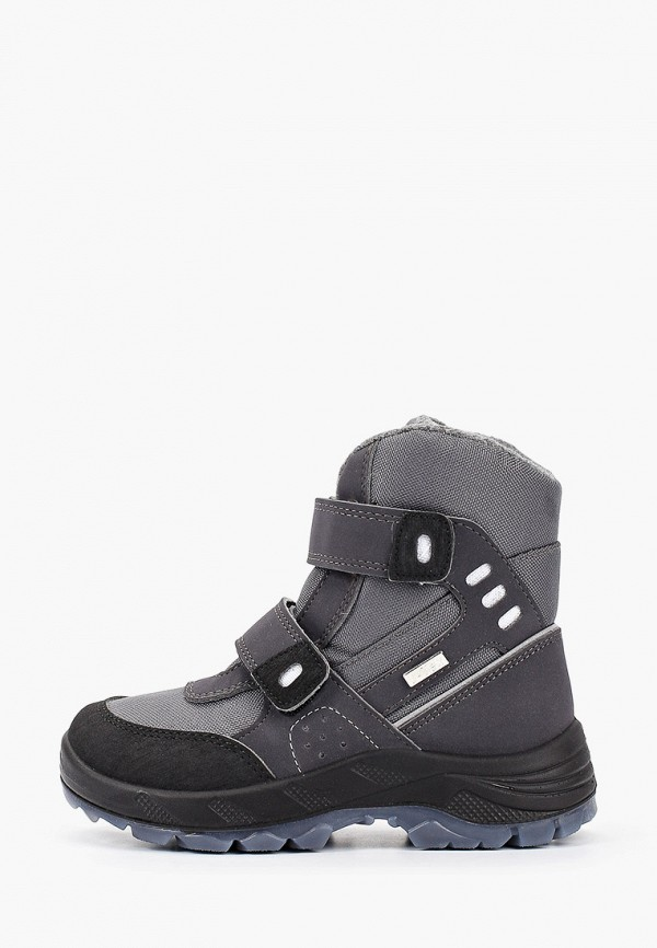 ботинки choupette для мальчика, серые