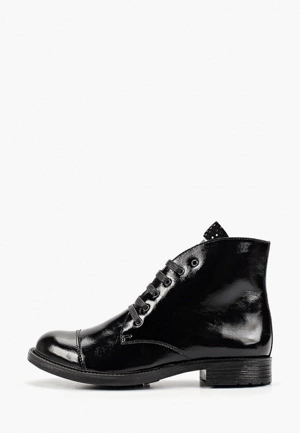 ботинки choupette для девочки, черные