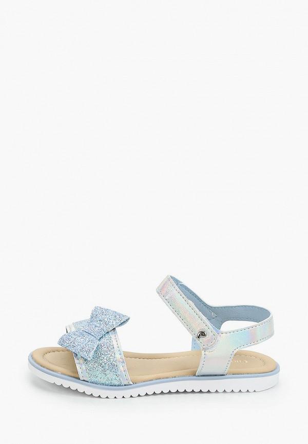 сандалии choupette для девочки, голубые