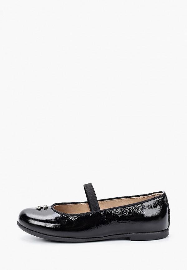 туфли choupette для девочки, черные
