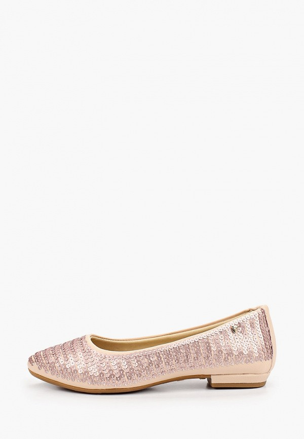 туфли choupette для девочки, бежевые