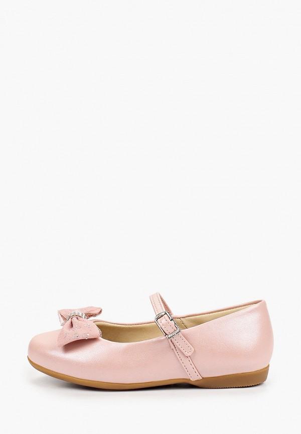туфли choupette для девочки, розовые