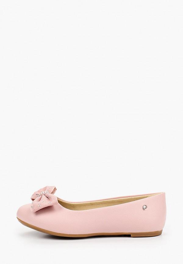 балетки choupette для девочки, розовые