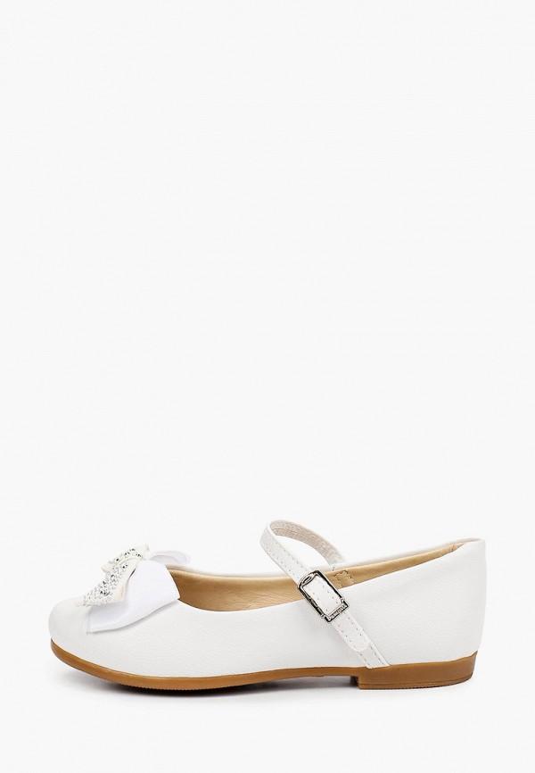 туфли choupette для девочки, белые