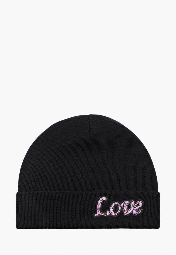 шапка choupette для девочки, черная