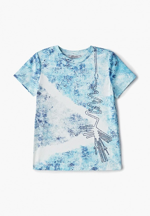 футболка с коротким рукавом choupette для мальчика, голубая