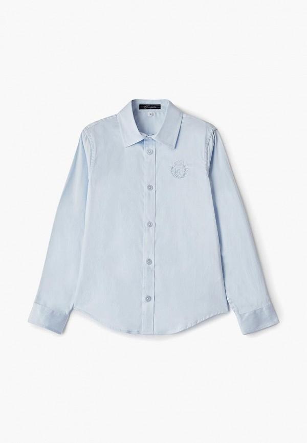 рубашка choupette для мальчика, голубая