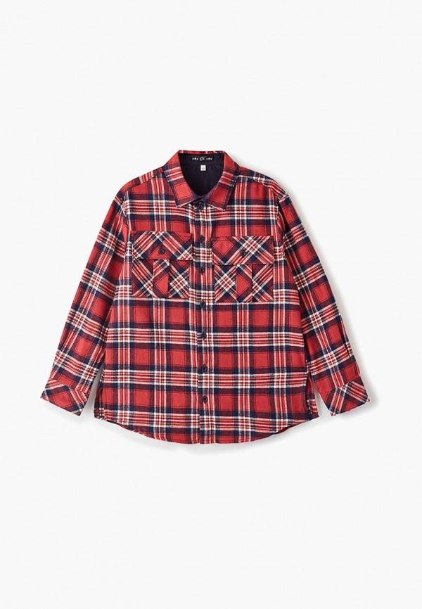 рубашка choupette для мальчика, красная