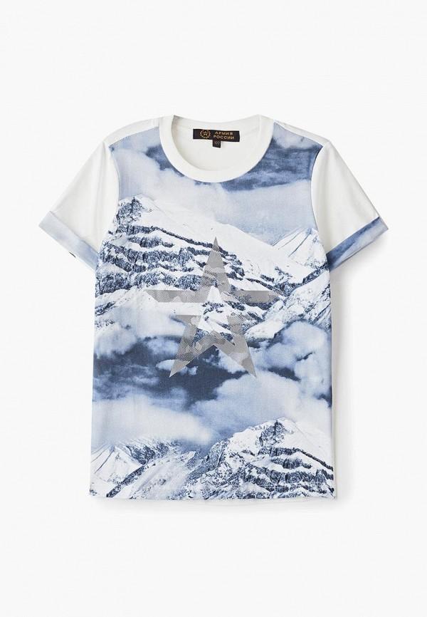 футболка choupette для мальчика, синяя
