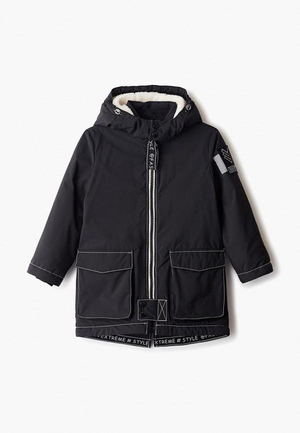 куртка choupette для мальчика, черная