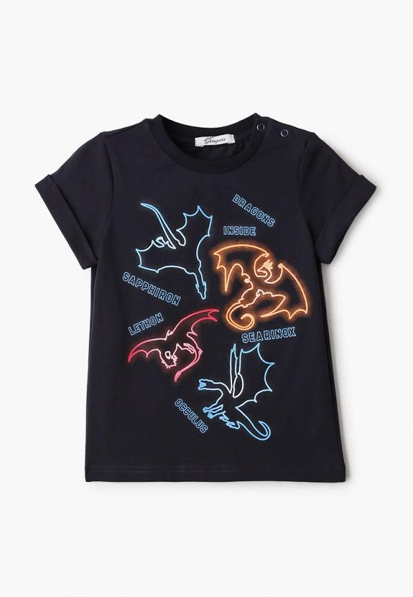 футболка с коротким рукавом choupette для мальчика, синяя