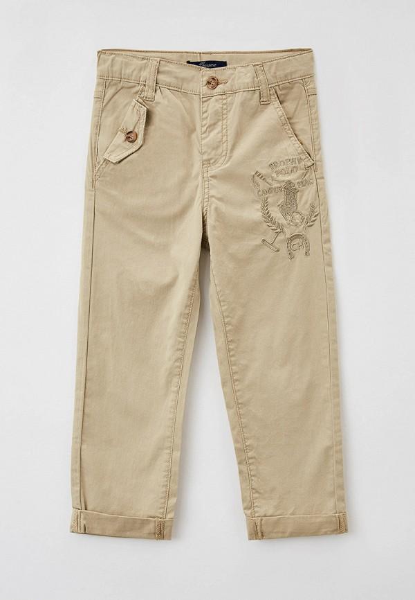 брюки choupette для мальчика, бежевые