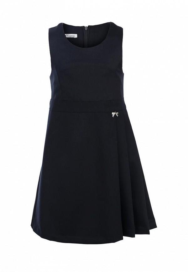Платье Choupette Choupette CH991EGCAN34 choupette вязаный с принтом для девочки