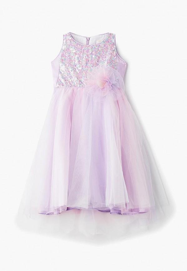 платье choupette для девочки, фиолетовое